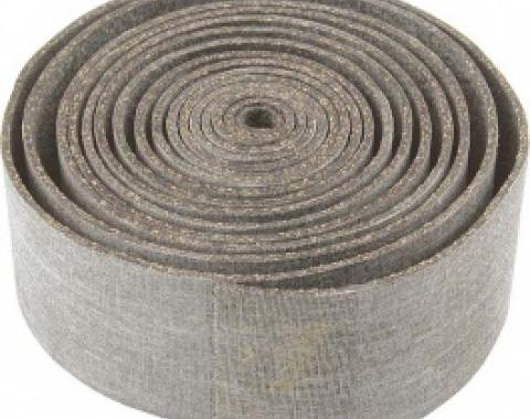 Glass Bedding, Cork & Rubber Compound, 1/16 Thick, 10' Roll, 1958-66