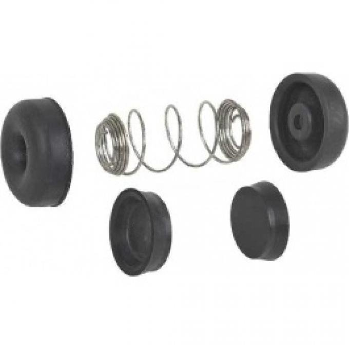 Ford Thunderbird Wheel Cylinder Rebuild Kit, Front, For 1-3/32 Diameter Wheel Cylinders, 1959-64