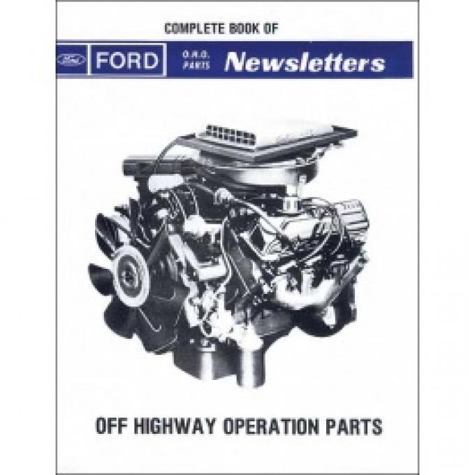Ford O.H.O. Parts Newsletters