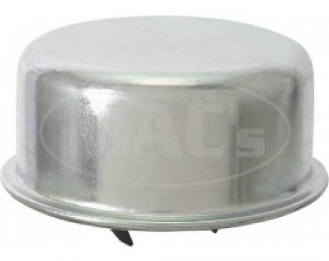 Ford Thunderbird Oil Filler Breather Cap, Push-On, Replacement, Plain Steel, 1955-57