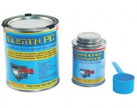 Glisten PC, Clear Coat, Gloss, 1 Quart