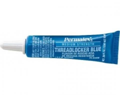 Thread Locker, Permatex, Blue, .20 Oz.