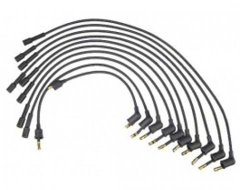Flame Thrower Wire Set, 7.0 mm, Brown, For A Stock Look, 1958-66