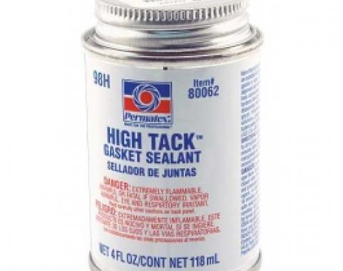 Permatex High Tack All Purpose Gasket Sealant, 4 Oz. Can With Brush In Lid