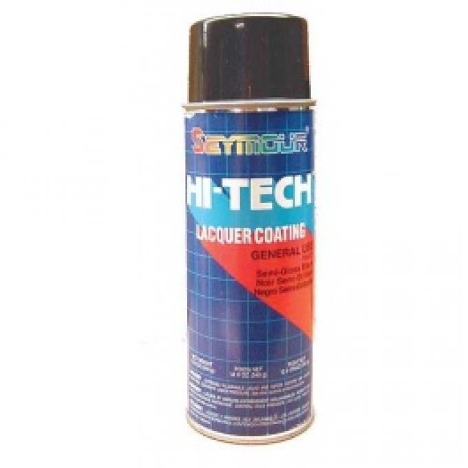 Detail Paint, Semi-Gloss Black, 12 Oz. Spray Can