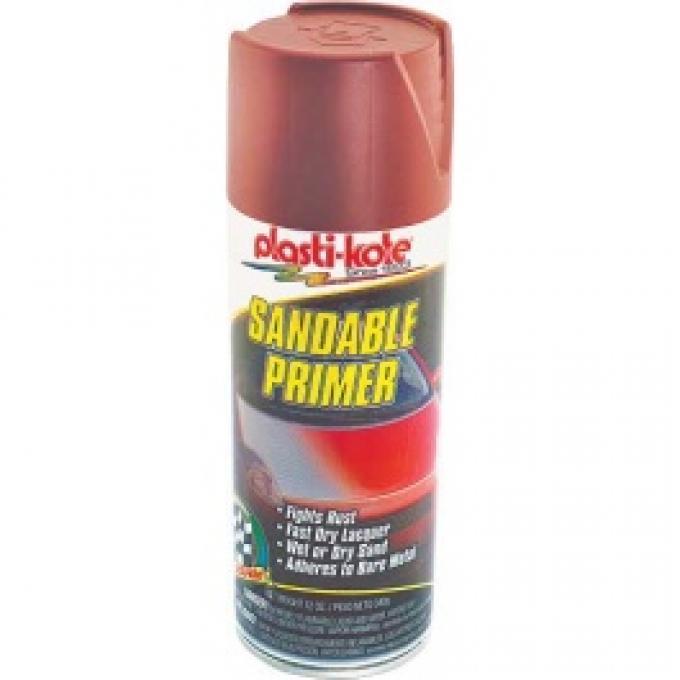 Metal Primer, Red Oxide, 12 Oz. Spray Can