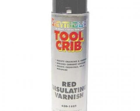 Red Insulating Varnish, 16 Oz. Spray Can