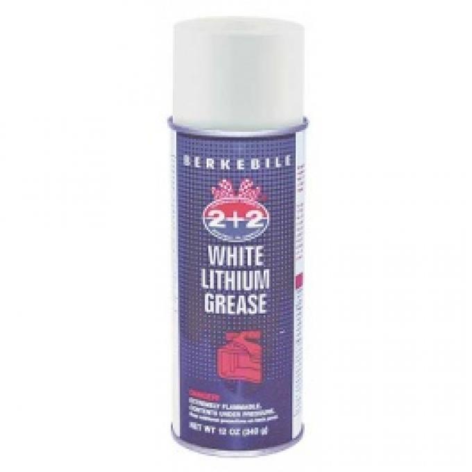 White Lithium Grease, 12 Oz. Spray Can