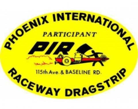 Decal, Phoenix International Dragstrip