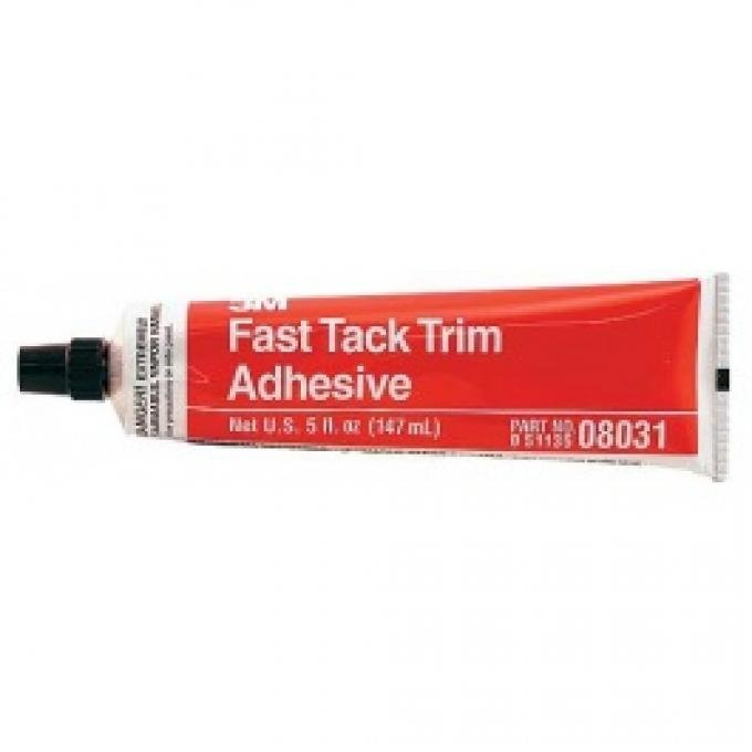 Vinyl Adhesive, 3M Brand, Light Colored, Fast Drying, 5 Oz. Tube