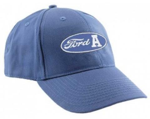 Baseball Cap, Blue, Ford A Script