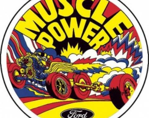 Decal, Muscle Power, 5