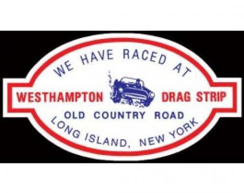 Decal, Westhampton Dragstrip