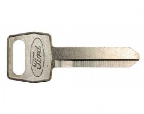 Ford Thunderbird Key Blank, Ignition, Double Sided, 1965-66