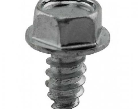 Ford Thunderbird Brake Line Clip Screw, 1955-57