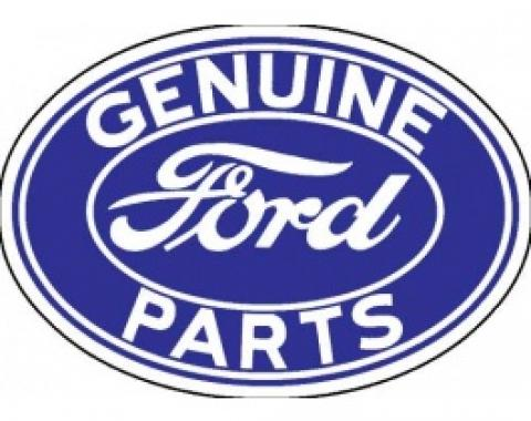 Decal, Genuine Ford Parts, 3 X 2-1/8