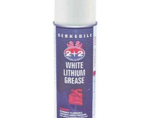 White Lithium Grease, 12 Oz. Spray Can