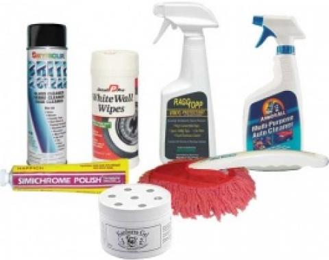 Deluxe Upholstery Cleaning and Car Care Kit, 7 Pieces