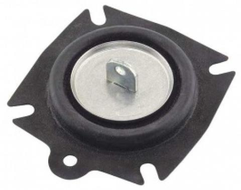 Ford Thunderbird Carburetor Secondary Diaphragm, Late Style Has A Plastic Actuator Arm, 1958-66