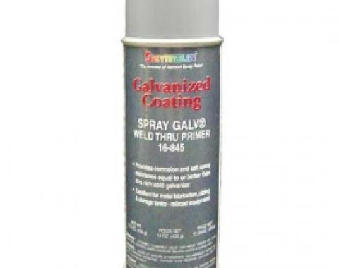 Cold Galvanizing Weld-thru Primer , Zinc, 15 Oz. Spray Can