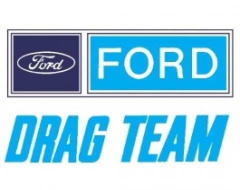 Decal, Ford Drag Team, 8