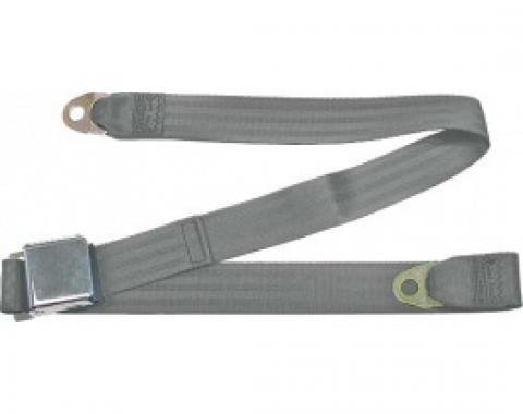 "Seatbelt Solutions 1949-1979 Ford | Mercury Lap Belt, 60"" with Chrome Lift Latch 1800606005 