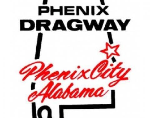 Decal, Phenix Dragway Phenix City Alabama