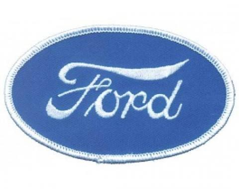 Cloth Patch, Oval Ford Script Emblem