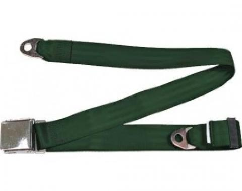 "Seatbelt Solutions 1949-1979 Ford | Mercury, Lap Belt, 74"" with Chrome Lift Latch 1800745006 