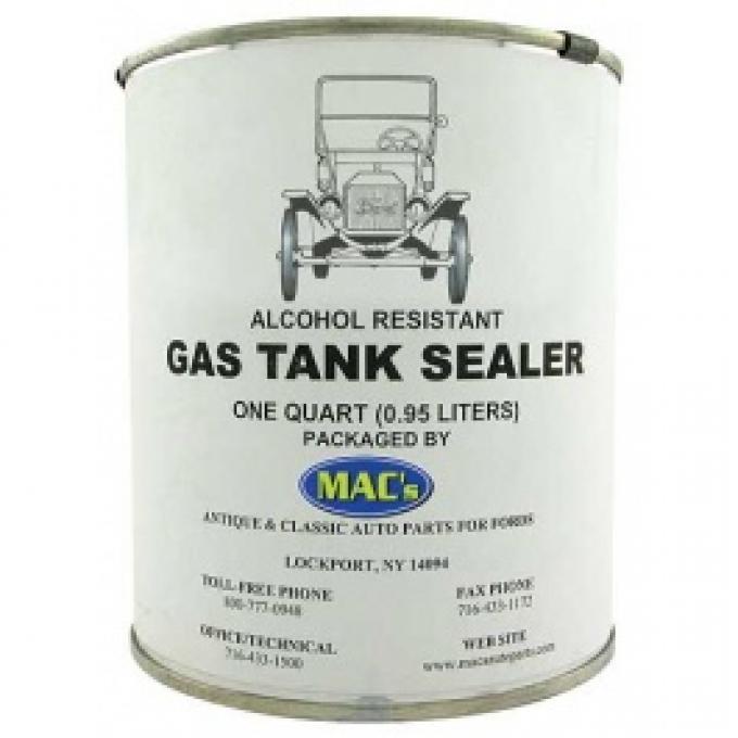 Gas Tank Sealer, Ethanol Compatible , 1 Quart Can