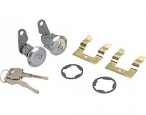 Ford Thunderbird Door Lock Cylinders & Keys, Reproduction, 1965-66