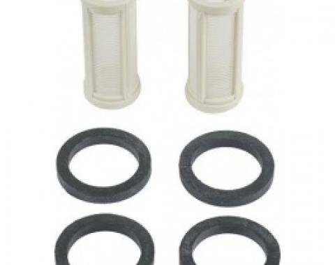 Inline Fuel Filter Element Set, For Our Universal Style Filter