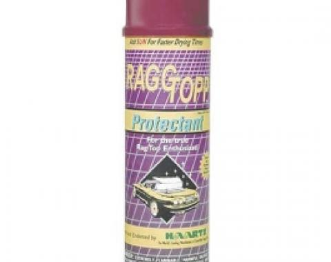 Raggtopp Brand Convertible Top Protectant, For Cloth Tops, 14 Oz. Spray Can