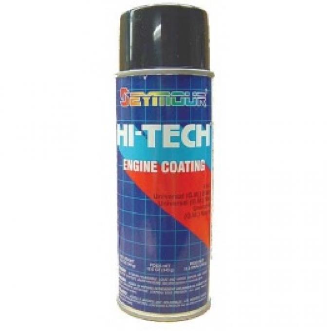 Valve Cover Paint, Gloss Black, High-Temp, 12 Oz. Spray Can, 1955-65