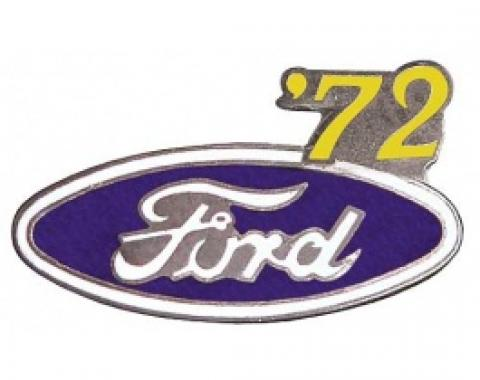 Hat Pin, Ford Oval With '72