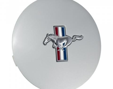 "Daniel Carpenter 1991-1993 Mustang Pony Wheel 6.75"" Silver Center Cap w/ Running Horse Individual F1ZZ-1130-S"