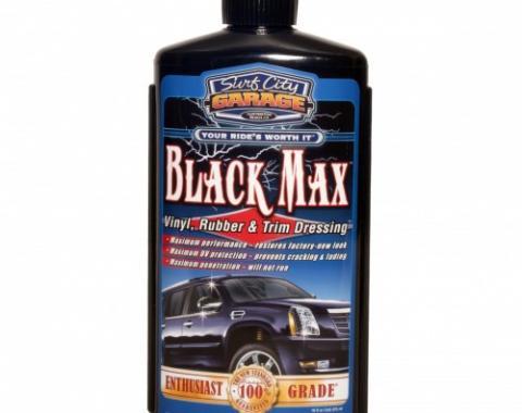 Black Max™ Vinyl, Rubber & Trim Dressing, Surf City Garage