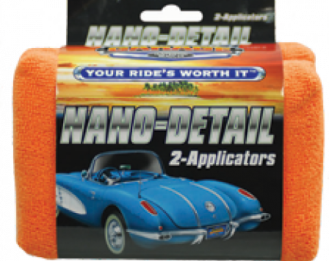Nano Detail Applicators, Surf City Garage, 2 Pack