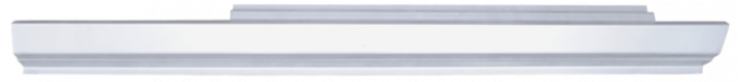 Key Parts '79-'93 Rocker Panel, Passenger's Side N0467100R
