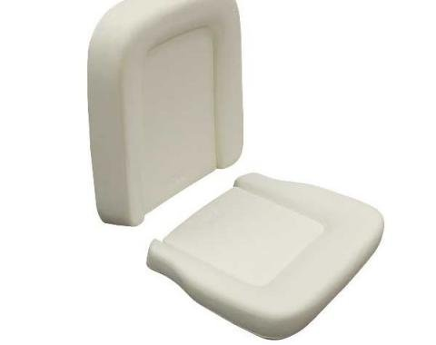 Ford Mustang Seat Foam - Standard Bucket Seat - Includes Seat Cushion & Seat Back