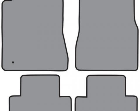 ACC  Ford Mustang Floor Mat 4pc (FM298 FM298A) Cutpile, 2005-2009