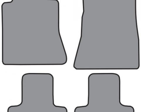 ACC  Ford Mustang Floor Mat 4pc (FM358 FM358R) Cutpile, 2015-2018