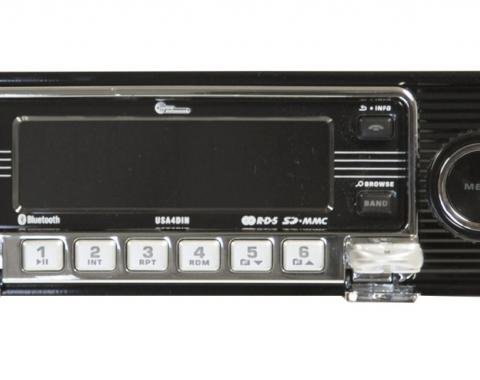 Custom AutoSound® 4-Din Radios | Black Face