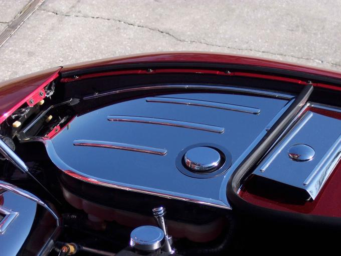 American Car Craft 2010-2014 Ford Mustang Inner Fender Covers Polished w/cap covers 033019