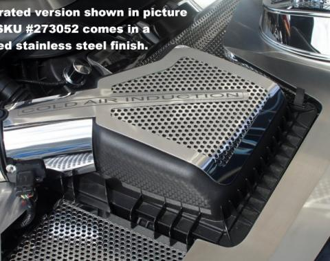 American Car Craft Ford Mustang 2011-2013  Air Box Cover Stock Polished 2pc 273052