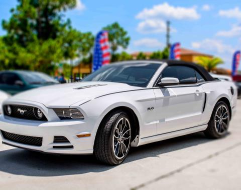 American Car Craft 2014 Ford Mustang Sport Side Graphic Satin Black 272027