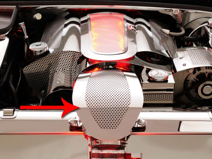 American Car Craft Air Tube Cover Perforated fits Factory Filter 033067