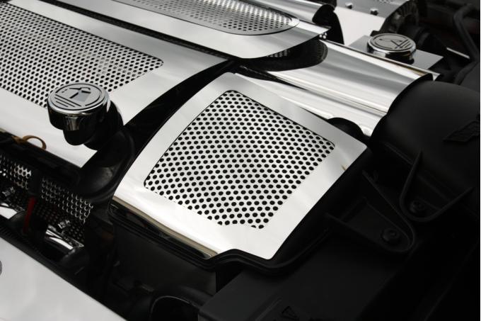 American Car Craft Air Capacitor Cover Perforated 2pc 043057