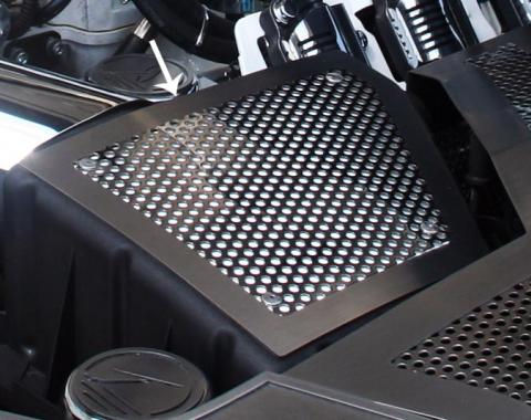 American Car Craft Air Box Filter Cover Perforated Stock 103060