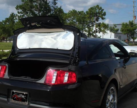 American Car Craft 2010-2014 Ford Mustang Trunk Panel Polished Plain 271023